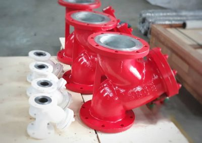 1 & 8 In Y-strainers