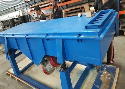 Alphascreen Linear Vibrating Sieve