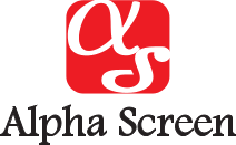 Alphascreen logo